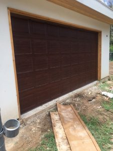 Garage Door Bent Panel Repair