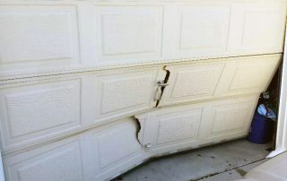 Garage Door Service Inc - Garage Door Bent Panel Repair