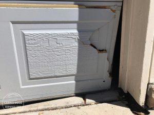 Garage Door Service Inc - Garage Doors Bent Panel Repair