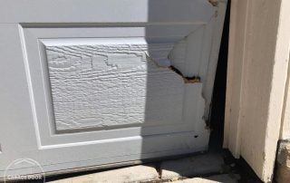 Garage Door Service Inc - Garage Doors Bent Panel Repair