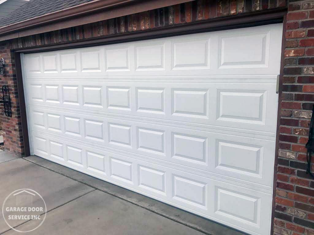 new garage door - Garage Door Service Inc