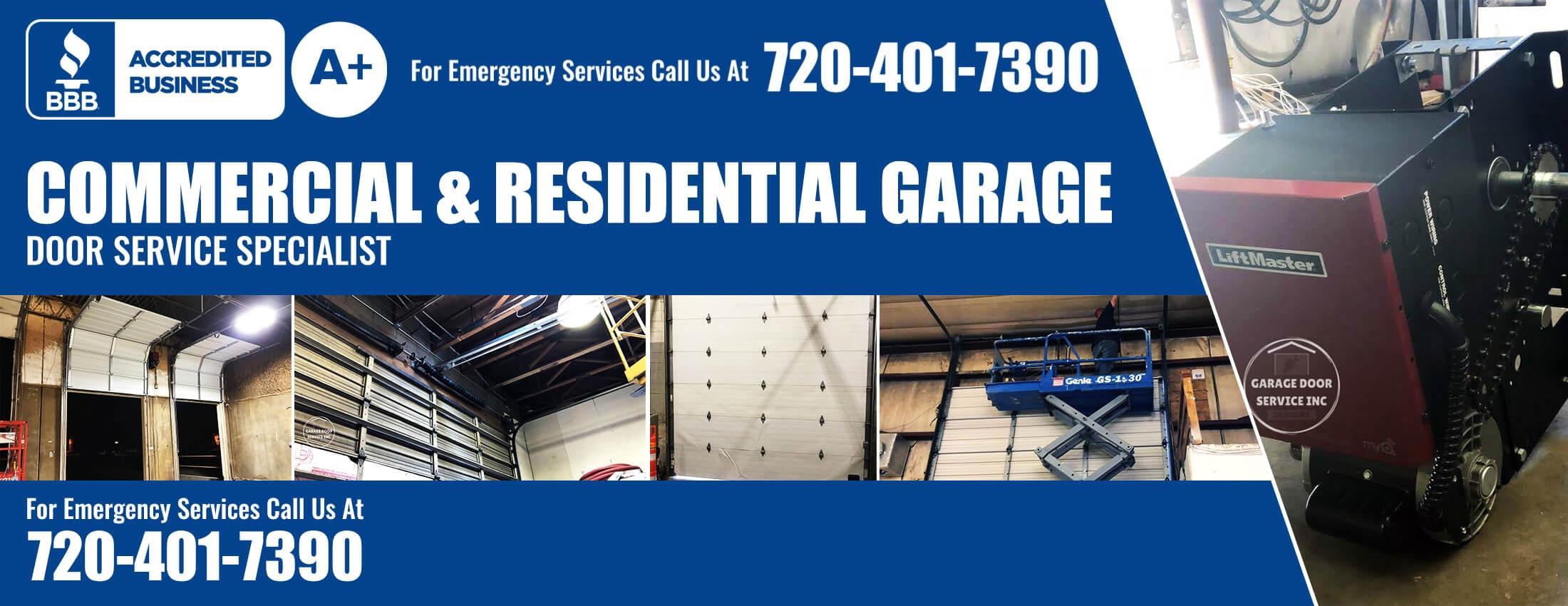 Commercial And Residential - Garage Doors Repair - Specialist-A - Garage Door Service Inc